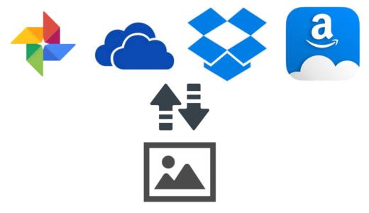 写真管理の観点から考えるクラウドストレージの比較【Google フォト (Google Drive) ・ OneDrive ・ Amazonプライムフォト】