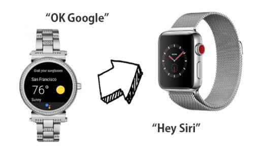 Android WearユーザーがApple Watchに変えて感じたこと