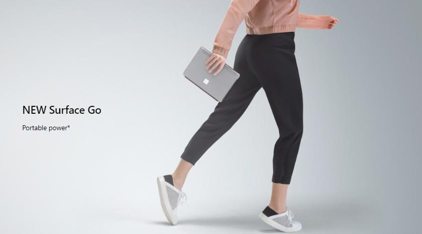 Surface Goのスペックを見た途端に買うしかないと思った