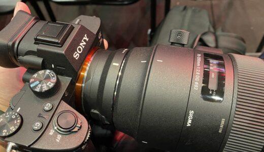 MC-11をα7Ⅲとα7RⅢで使用した時のAF-C挙動と動体撮影で実用的かという点について
